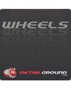 DETAILGROUND Wheels Bucket Sticker
