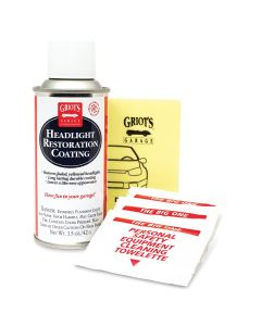 Griot's Garage Headlight Restoration Kit