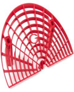 Grit Guard Washboard Bucket Insert - Red