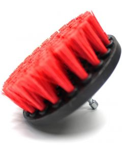 MAXSHINE Red Heavy Duty Drill Carpet Brush