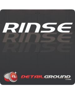 DETAILGROUND Rinse Bucket Sticker