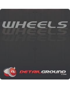 DETAILGROUND Wheels Bucket Sticker