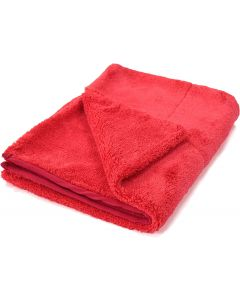 "Red Drying Microfiber Towel 20""x28"" 1000 gsm"
