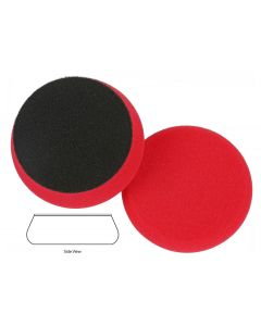 Lake Country Force Hybrid Red Waxing Foam Pad 3.5""