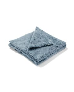 "Gray Edgeless Microfiber Towel 16""x16"" 500gsm"
