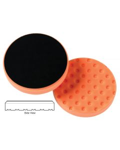 Lake Country CCS Cutback Orange Foam Light Cutting Pad 6.5""