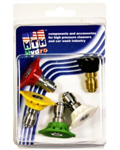 MTM Hydro Stainless Steel 3.0 Quick Connect Nozzles - 5 pack