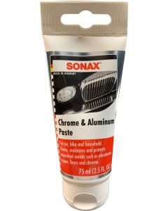 SONAX Chrome & Aluminum Paste 2.3 oz (75 ml)