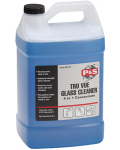 P&S Tru Vue Glass Cleaner Concentrate 1 gal (3.79 L)