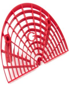 Grit Guard Washboard Bucket Insert - Red